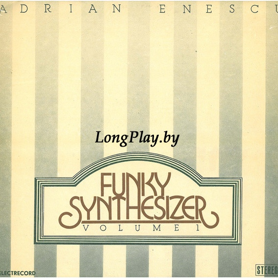 Adrian Enescu ‎ - Funky Synthesizer Volume 1