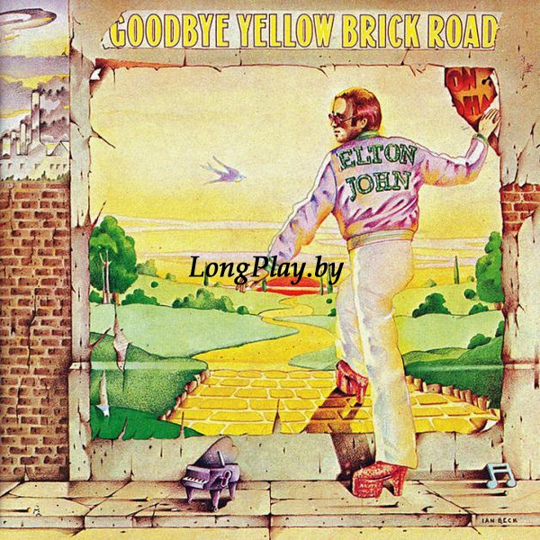 Elton John ‎ - Goodbye Yellow Brick Road
