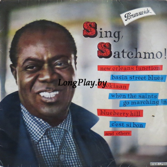 Louis Armstrong With His All Stars And Orchestra - Sing, Satchmo!