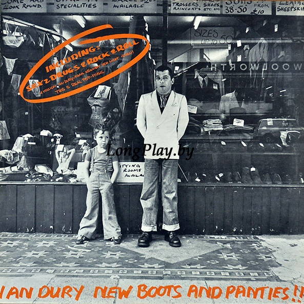 Ian Dury - New Boots And Panties!!