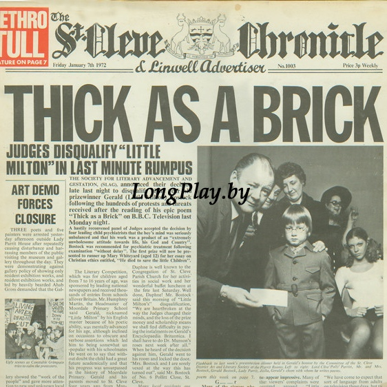 Jethro Tull ‎ - Thick As A Brick
