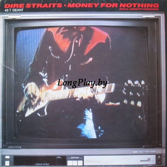 Dire Straits ‎ - Money For Nothing MAXI