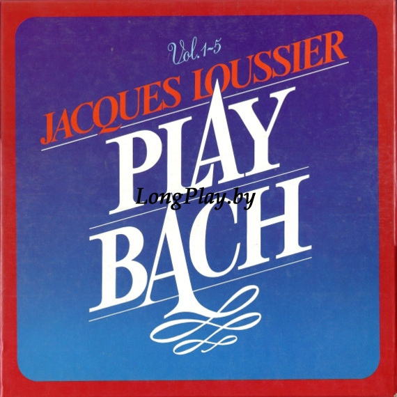 Jacques Loussier ‎ - Play Bach Vol. 1-5