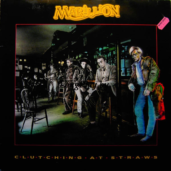 Marillion ‎ - Clutching At Straws