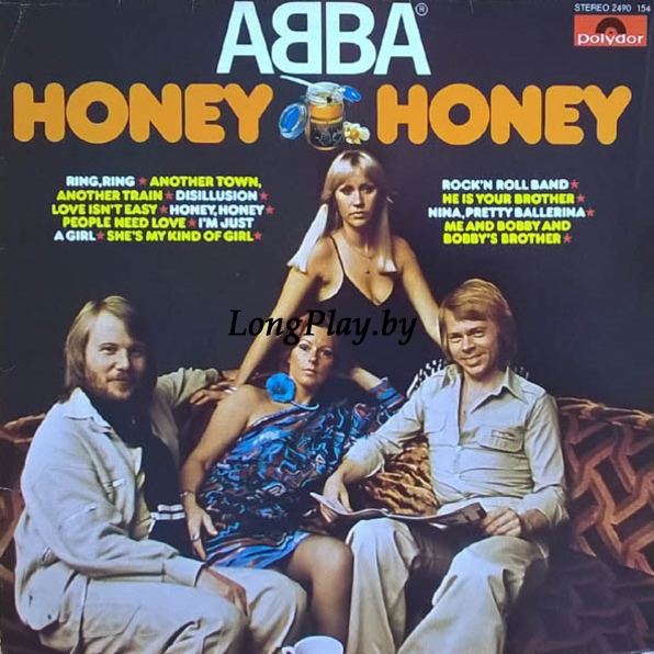 ABBA ‎ - Honey, Honey