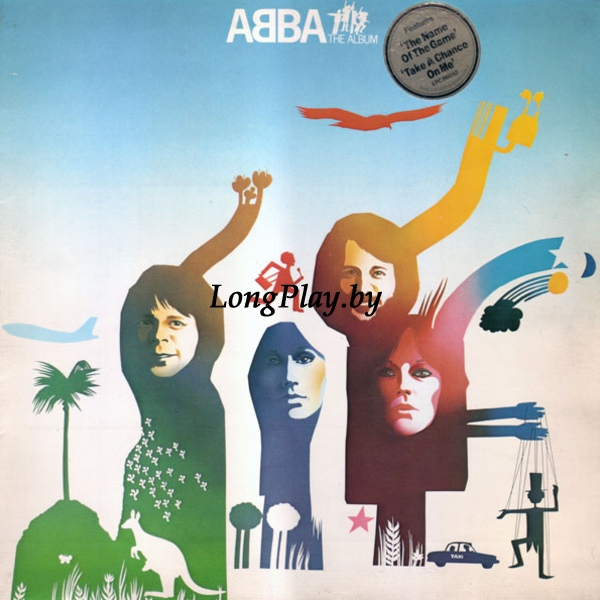 ABBA ‎ - The Album UK