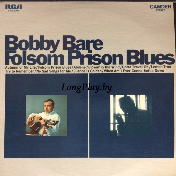Bobby Bare ‎ - Folsom Prison Blues