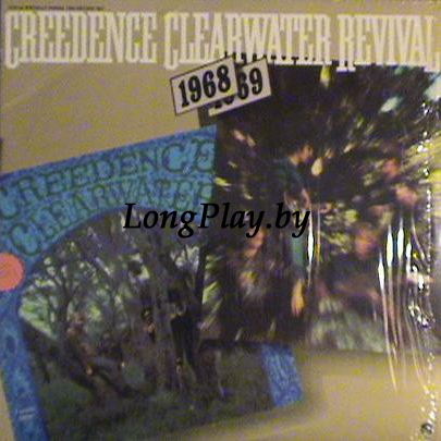 Creedence Clearwater Revival - 1968 / 1969 =  Creedence Clearwater Revival/Bayou Country