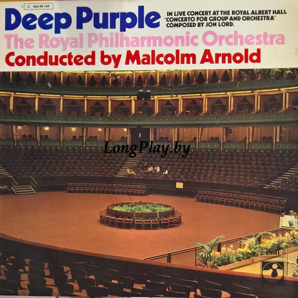 Deep Purple, The Royal Philharmonic Orchestra, Malcolm Arnold  - Concerto For Group And Orchestra