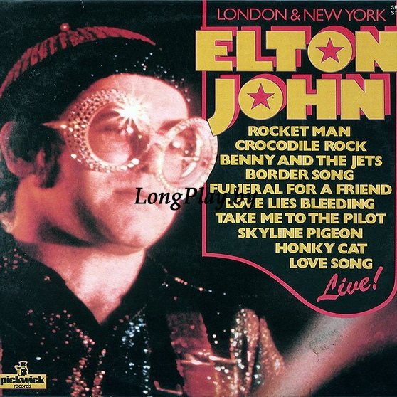 Elton John - London & New York ‎