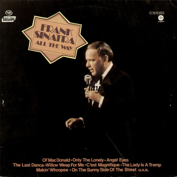 Frank Sinatra ‎ - All The Way