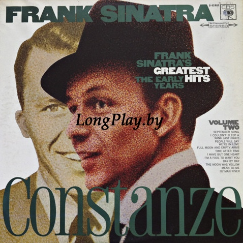 Frank Sinatra ‎ - Frank Sinatra's Greatest Hits - The Early Years - Volume Two