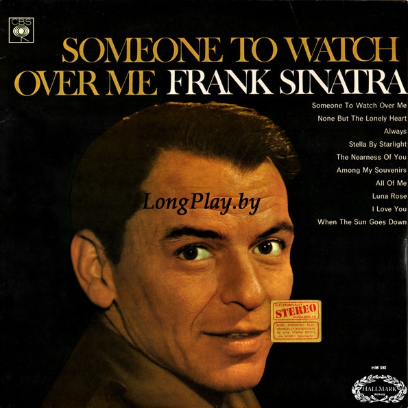Frank Sinatra ‎ - Someone To Watch Over Me