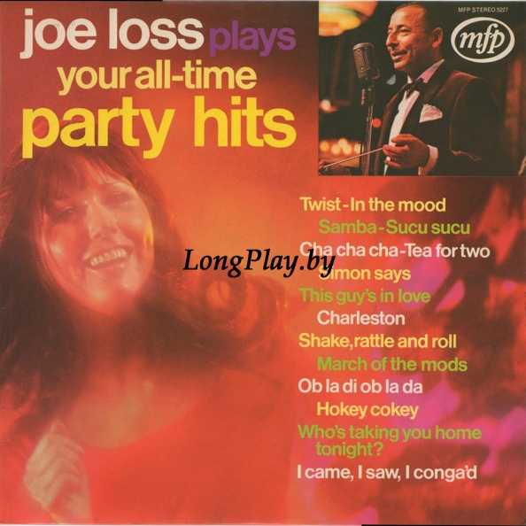 Joe Loss ‎ - Joe Loss Plays Your All-Time Party Hits