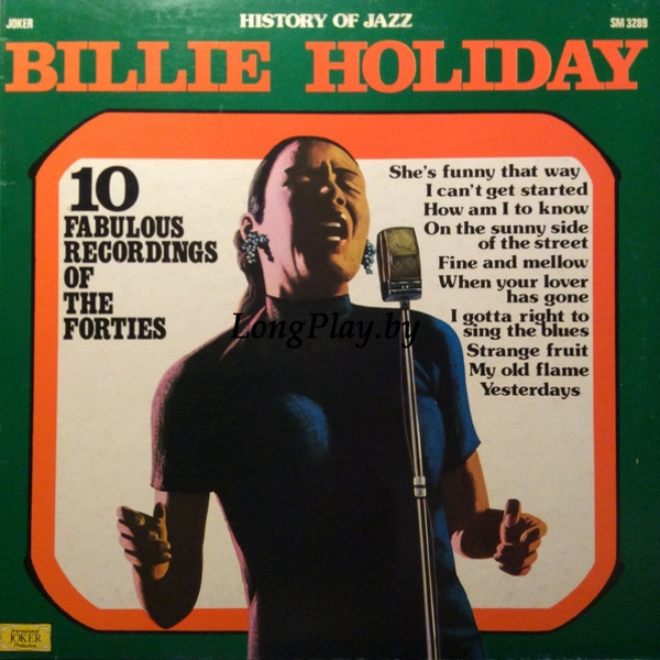Billie Holiday  - 10 Fabulous Recordings Of The Forties