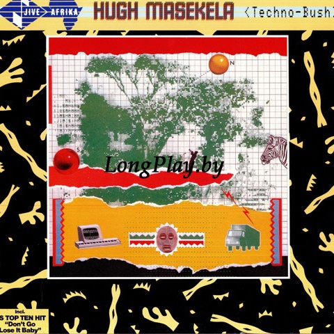 Hugh Masekela ‎ - Techno-Bush