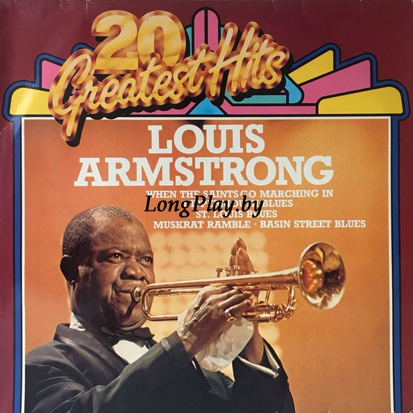 Louis Armstrong ‎ - 20 Greatest Hits