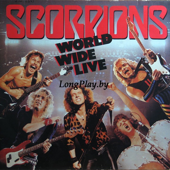 Scorpions ‎ - World Wide Live