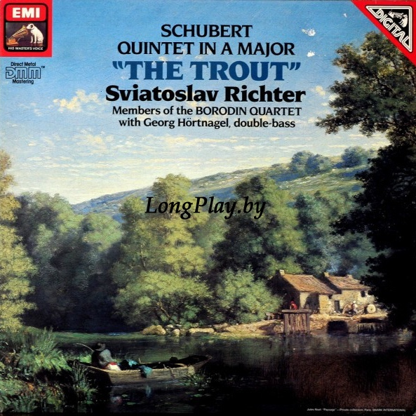 Sviatoslav Richter ‎ - Schubert Quintet In A Major