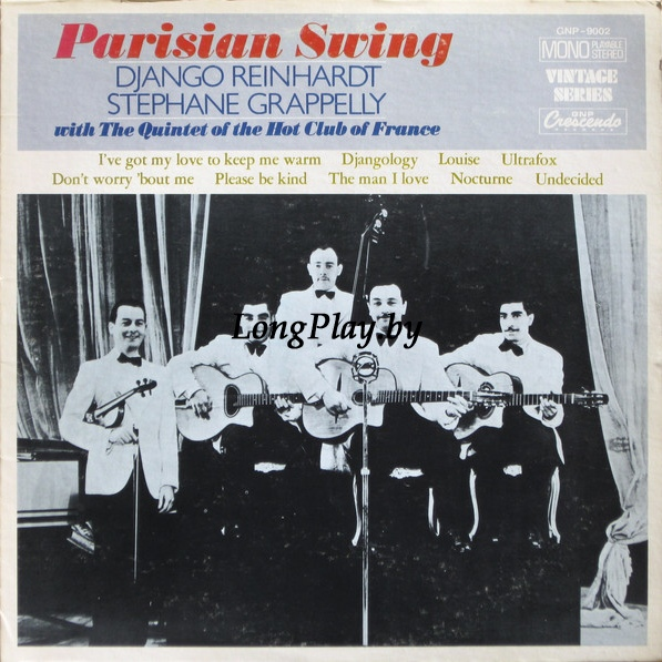Django Reinhardt / Stephane Grappelly With The Quintet Of The Hot Club Of France - Parisian Swing