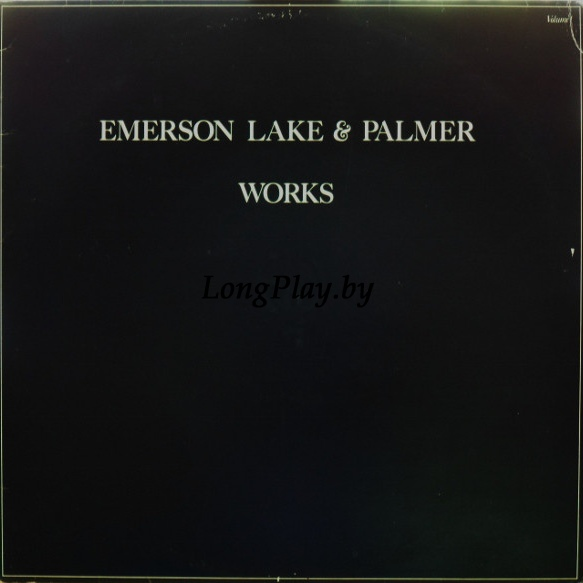 Emerson, Lake & Palmer ‎ - Works Volume 1