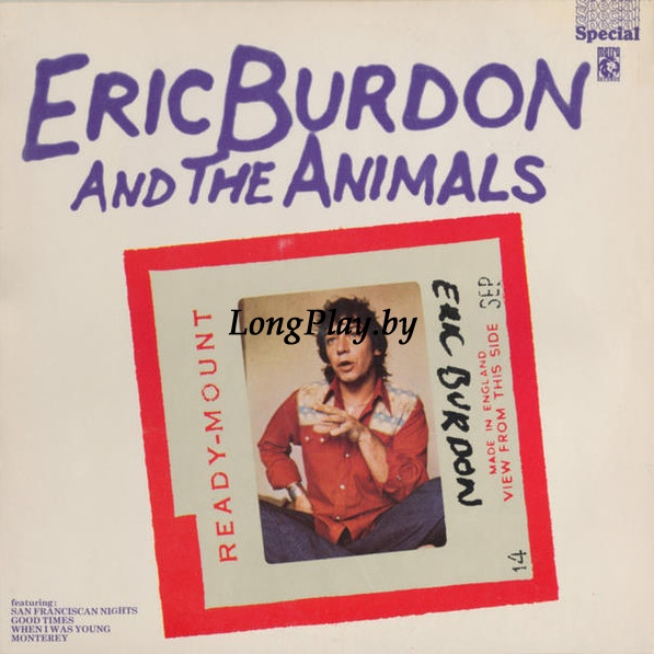 Eric Burdon & The Animals ‎ - Eric Burdon And The Animals