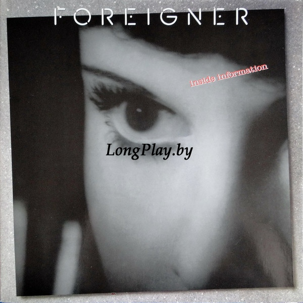 Foreigner ‎ - Inside Information