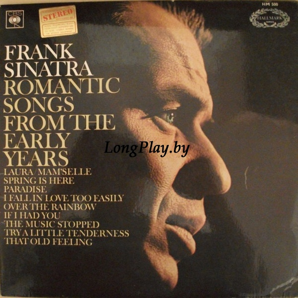 Frank Sinatra ‎ - Romantic Songs From The Early Years