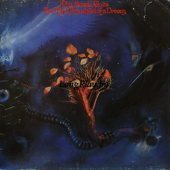 The Moody Blues ‎ - On The Threshold Of A Dream ++