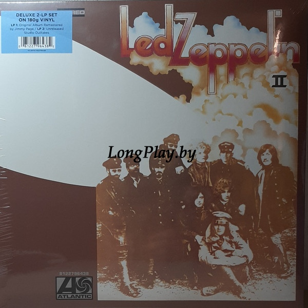 Led Zeppelin ‎ - Led Zeppelin II 2LP +
