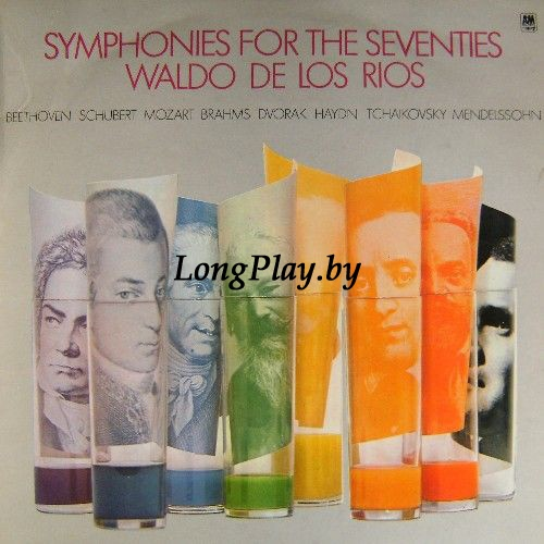 Waldo De Los Rios ‎ - Symphonies For The Seventies ++