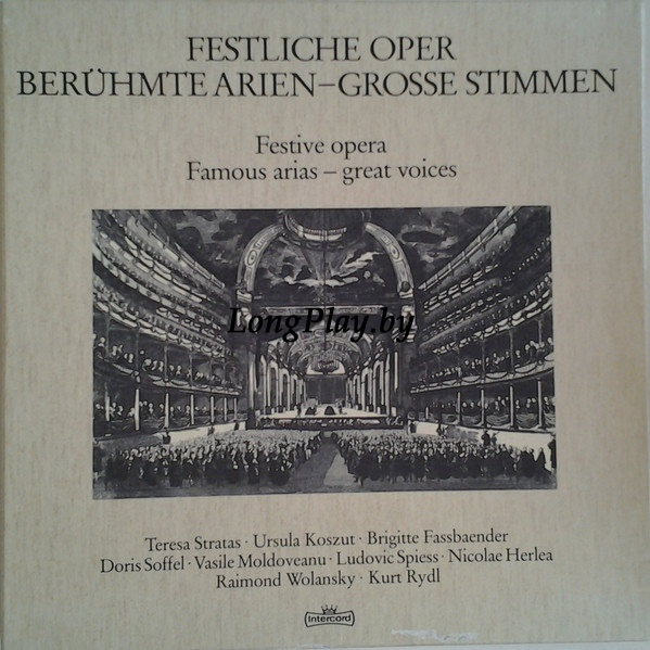 Württembergisches Kammerorchester - Festive opera. Famous arias - great voices. ++